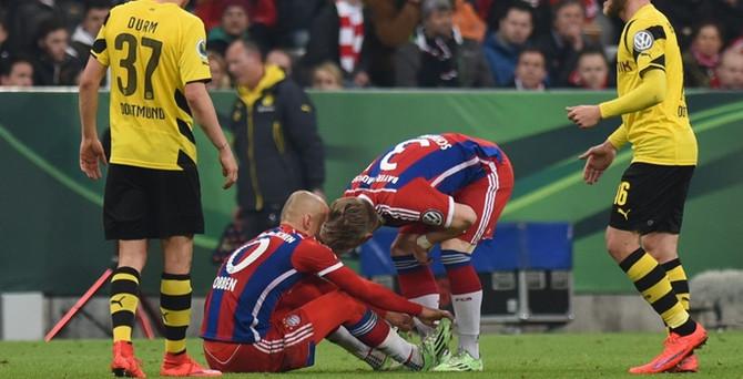 Bayern Münih tepetaklak