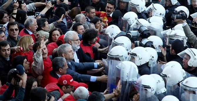 1 Mayıs'ta Taksim'e 10 bin polis çıkacak