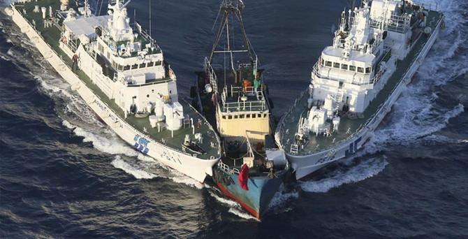 Güney Çin denizinde tansiyon yükseliyor