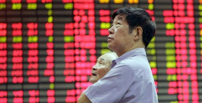 Borsaları Yunanistan sonrası Çin endişesi sardı