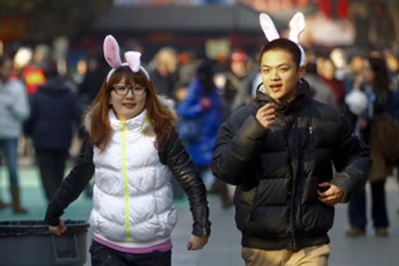 Çin tavşan yılına girdi