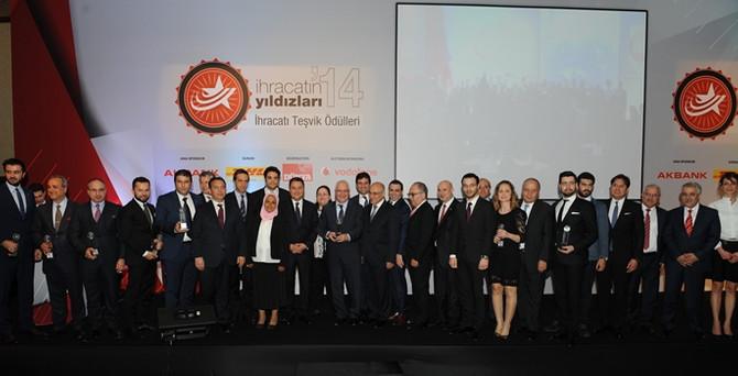 Türkiye'nin yıldız ihracatçılarının 14'üncü gurur gecesi