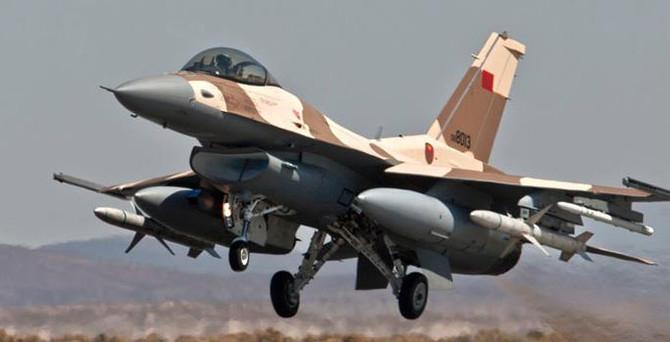 Fas savaş uçağı düşürüldü iddiası