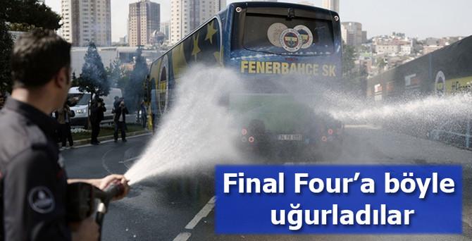 Fenerbahçe Ülker 'Final Four'a uğurlandı