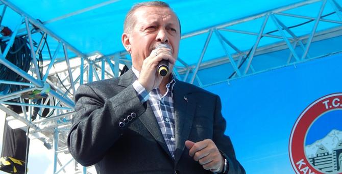 Seçim Kurulu'ndan Erdoğan'a izin yok