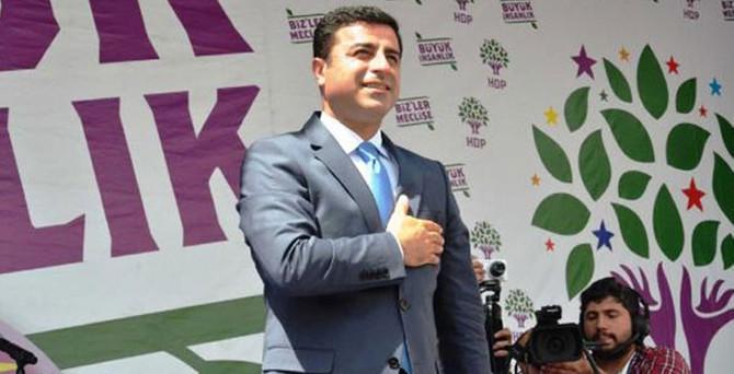 Demirtaş İstanbul'da konuştu