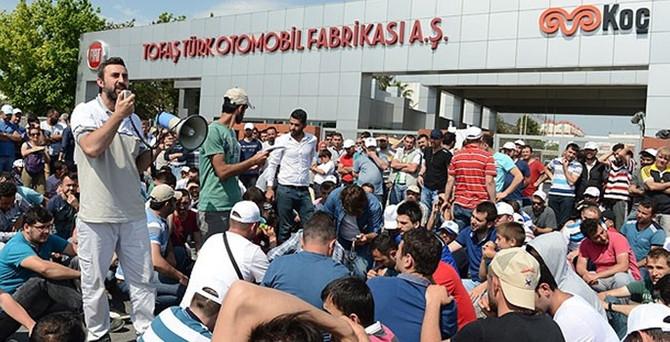 Tofaş'ta 80 işçi daha işten çıkartıldı