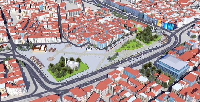 Aksaray'ın çehresi değişiyor
