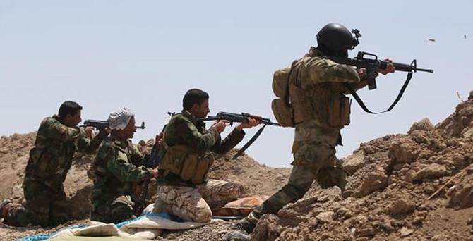 Irak'ta 35 IŞİD militanı öldürüldü