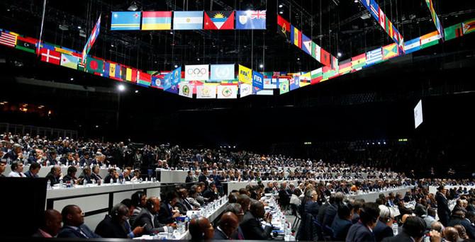 FIFA kongresinde bomba paniği