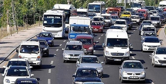 Başkentte miting trafiği