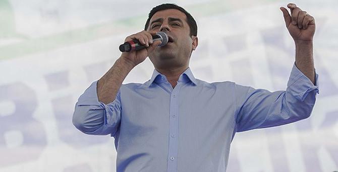 Demirtaş'tan PKK'ya 'silah bırak' çağrısı