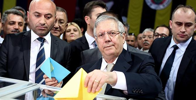 Fenerbahçe'de Aziz Yıldırım yeniden başkan seçildi