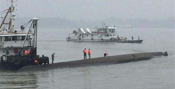 Çin'de gemi faciası: 440 kişi kayıp