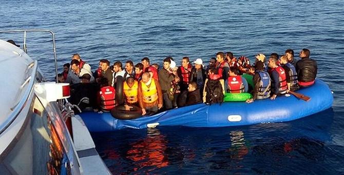 Ege Denizi'nde 476 kaçak kurtarıldı