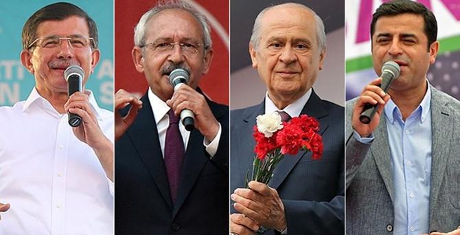 Liderler oylarını kullandı