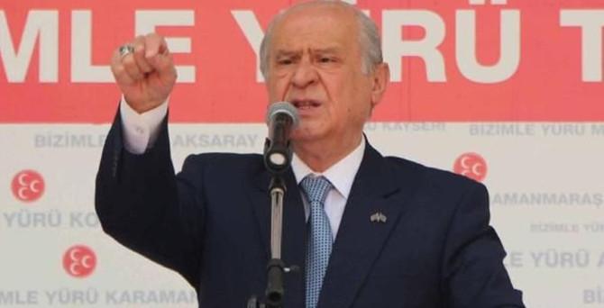 Bahçeli: Erdoğan o makama layık değil