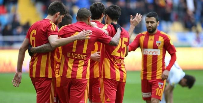 Kayserispor'un maçları 3 lira