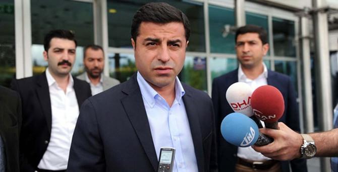 Demirtaş'tan MHP açıklaması