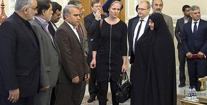 İran'ı karıştıran ziyaret