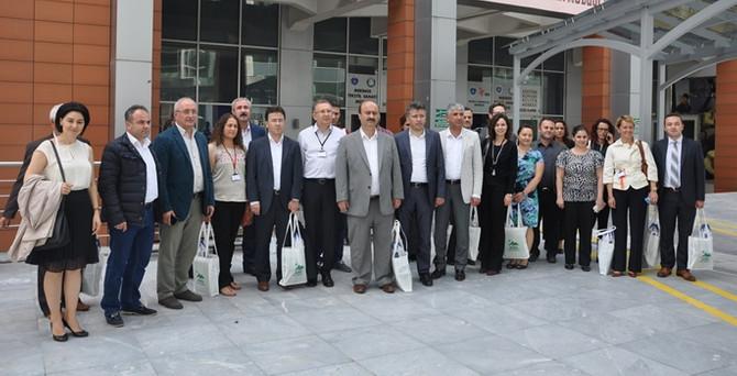 Bursa Kent Konseyi, belediye yöneticilerini ağırladı