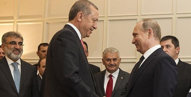 Erdoğan ve Putin, Türk Akımı için bir araya gelecek
