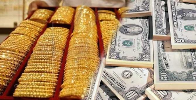 """Dolar, altının """"güvenli liman"""" rolünü çaldı"""