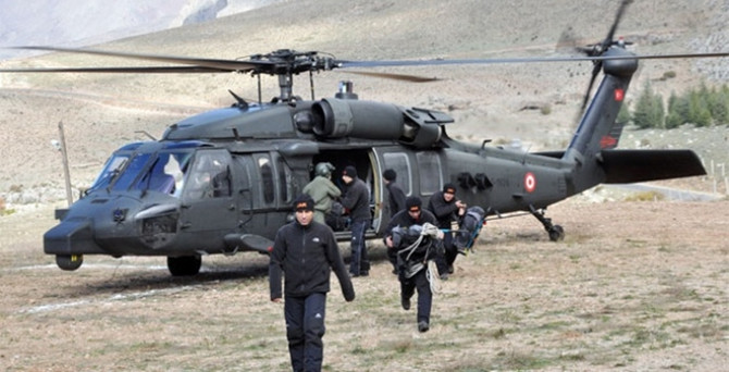 Tokat'ta kaybolan dağcılar bulundu