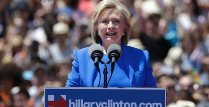 Clinton'dan 'orta sınıf' vaatleri