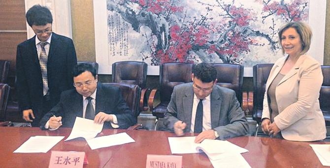 Çin, ilk anlaşma için Türkiye'yi seçti 600 milyar dolarlık pazarı açıyor