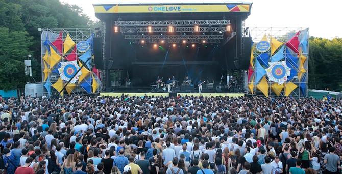 One Love Festival'de dünyaca ünlü isimler sahne aldı