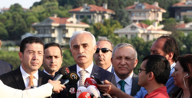 Erdoğan MÜSİAD heyetiyle görüştü