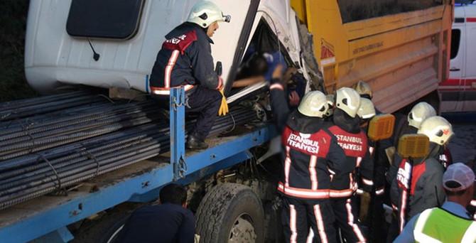 Kağıthane'de feci kaza : 1 ölü