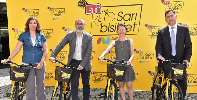 ETİ Sarı Bisiklet, kadınlarla Türkiye'yi hareketlendirecek