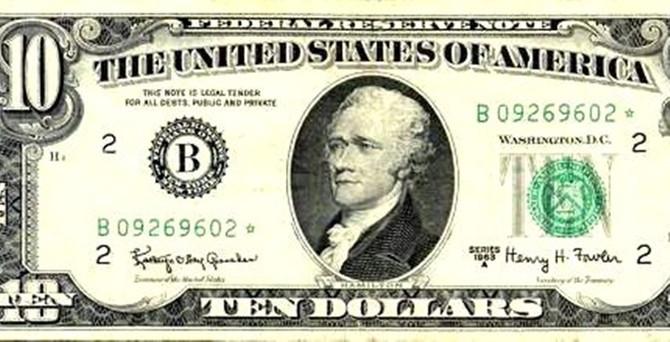 Dolarda 100 yıl sonra bir ilk