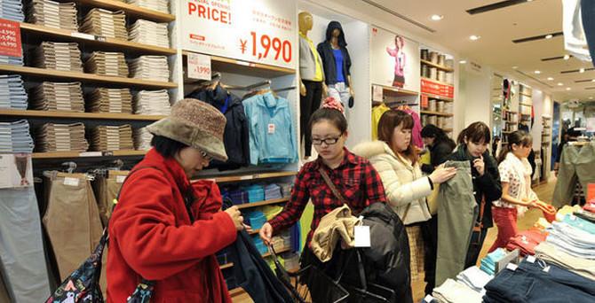 Japonya'da perakende satışları arttı
