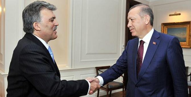 Erdoğan ve Gül bir araya geldi