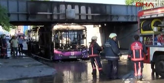 İETT otobüsünde patlama
