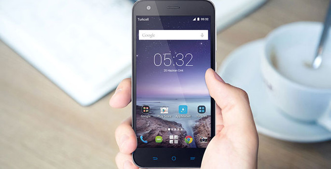 Turkcell'in yeni telefonu T60 piyasaya çıktı