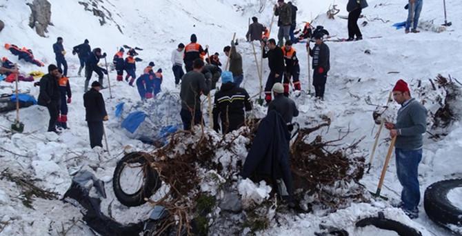 Çaykara'daki çığ faciasının raporu hazırlandı