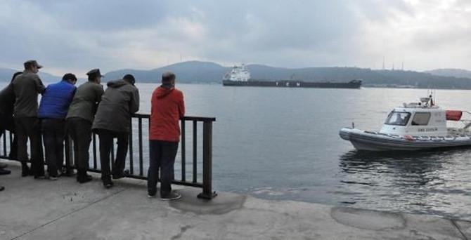 Tarabya'da denize atlayan kişi kayboldu