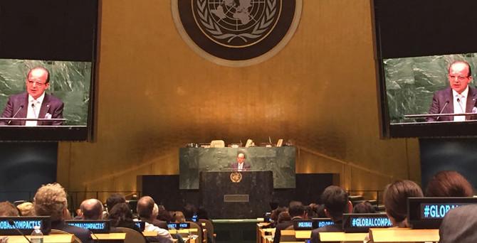 Yılmaz Argüden'den BM'de işbirliği çağrısı