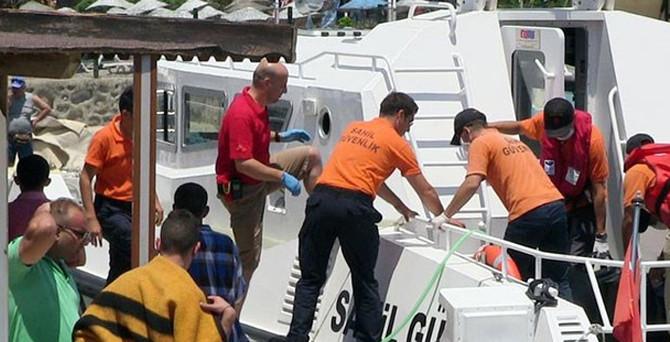 Kaçak teknesi battı; Türk kaptan öldü