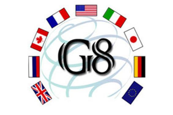 G-8 liderleri Fransa'da toplanıyor