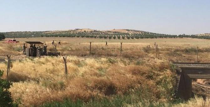 IŞİD mayın döşedi, asker teyakkuza geçti!