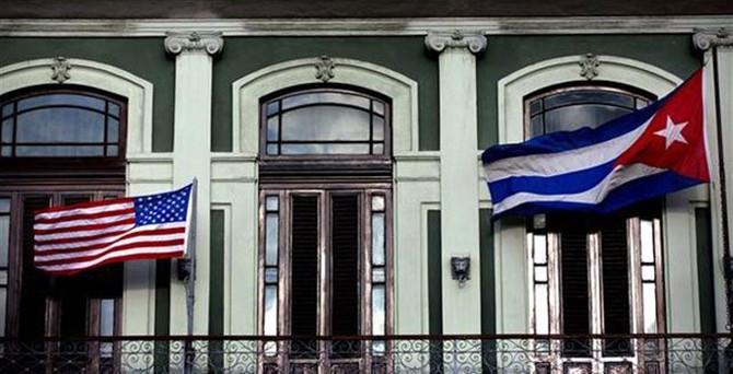 Küba'nın ABD büyükelçiliği pazartesi açılıyor