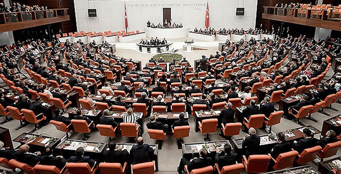 Meclis'te gündem Başkanlık Divanı