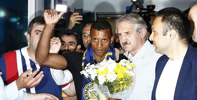 Portekizli yıldız İstanbul'a geldi
