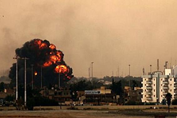 Kızılay binasını bombaladılar