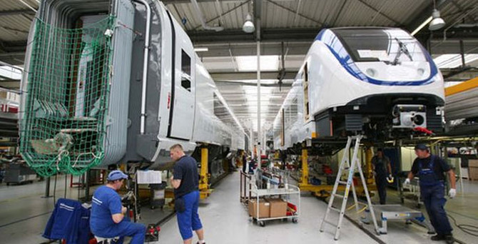 Almanya sanayi üretimi yatayda